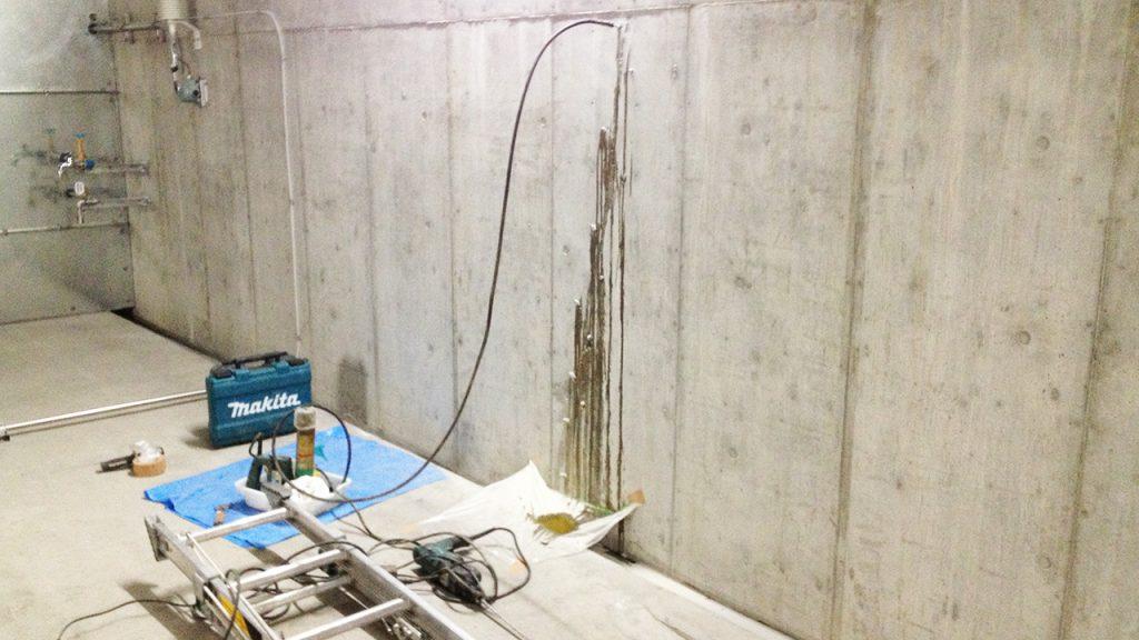 地下防水・止水施工